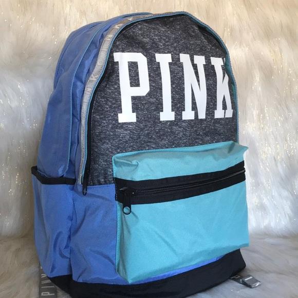 e07a69eacf5e Victoria s Secret multicolored campus backpack